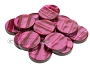 Backgammon Checkers - Acrylic - Burgundy (1 3/4in Dia.) - Roll of 15