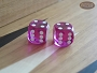 Precision Dice - Fuschia Pink - 5/8 in. - 1 pair (2 die)