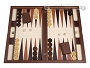 Dal Negro Wood Backgammon Set - Cambridge