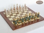 The Elegant Chessmen with Spanish Traditional Chess Board [Large]
