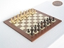 Classic Staunton Chessmen with Spanish Traditional Chess Board [Large]