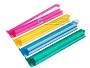 Modern Pushers - Rack & Pusher Combined - Acrylic - Colored Clear - Set of 4