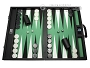 Wycliffe Brothers® Tournament Backgammon Set - Black-Green