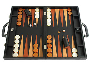 Leather Backgammon Sets: $1000+