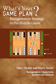 Review: What's Your Game Plan? Backgammon Strategy in the Middle Game