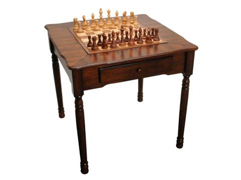 Chess/ Checkers/ Backgammon Table [31 1/2in.]