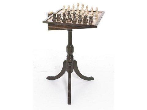 Tournament Chess & Checker Table