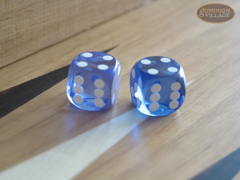 Precision Dice - Lavender Blue