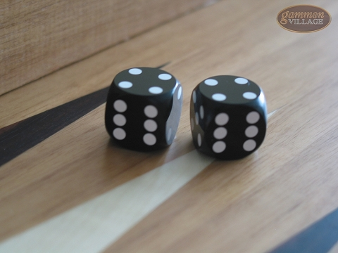 Precision Dice - Opaque Black