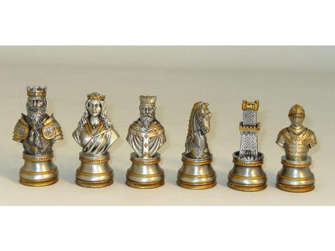 Camelot Pewter Chessmen