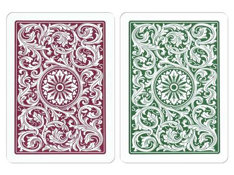 Copag Green/Burgundy Cards - Double Deck