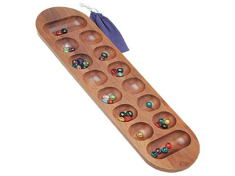 Walnut Mancala Set - 22in.