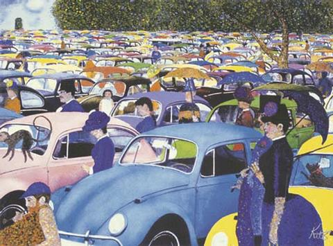 3227 - Sunday Afternoon Looking for the Car 1000 Piece Jigsaw Puzzle