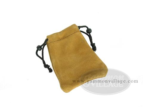 Suede Dice Bag - (3