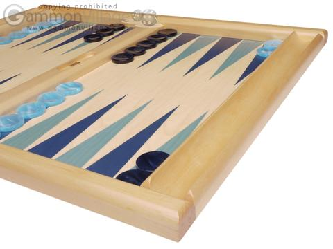 Dal Negro Wood Tabletop Backgammon Set - Atene