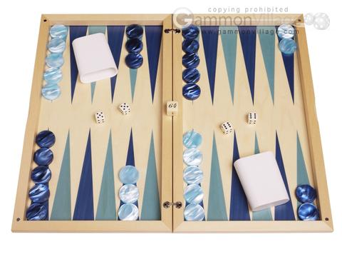 Dal Negro Wood Backgammon Set - Rodi