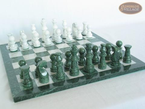 Marble Chess Set [Felt Bottom]