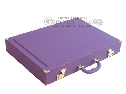 Dal Negro Cialux Backgammon Set - Purple