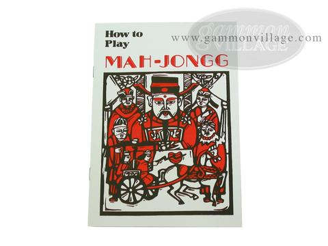 Mah Jong Rules Booklet - English
