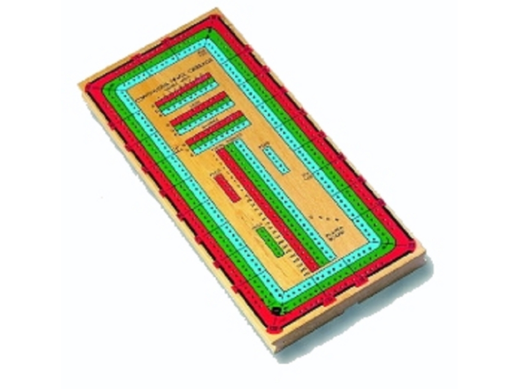 Continuous Triple Track Cribbage