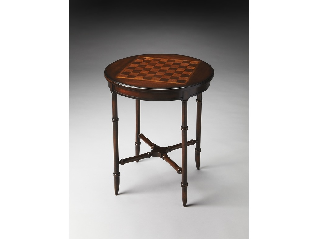 Somerset Plantation Cherry Game Table