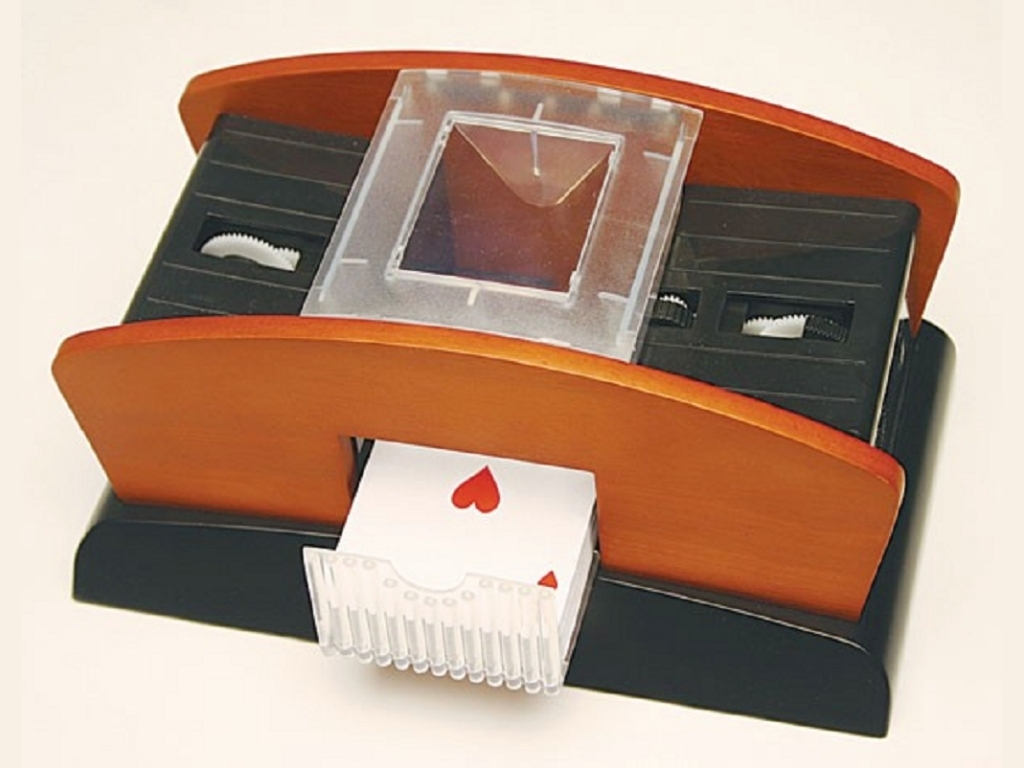 Two-Deck Card Shuffler