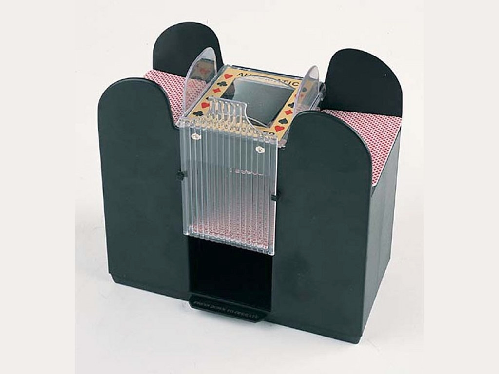 6 Deck Automatic Card Shuffler