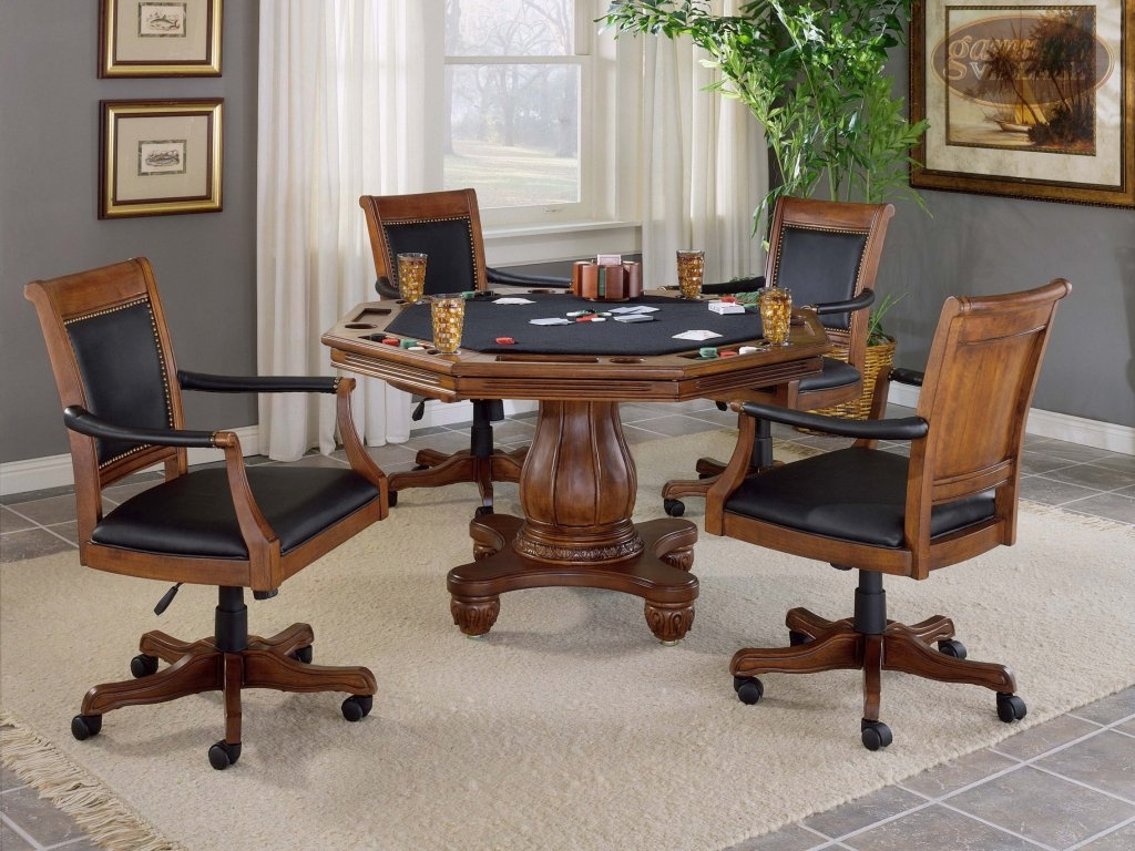 Kingston Game Table Set (Table + 4 chairs)