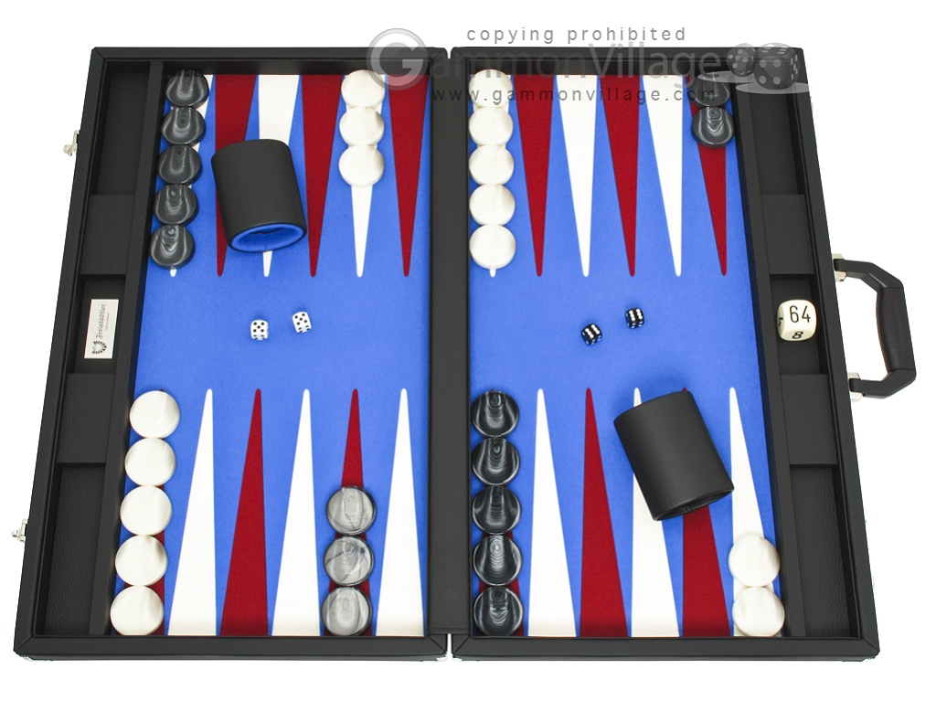 Freistadtler Professional Series - Tournament Backgammon Set - Model 350Z