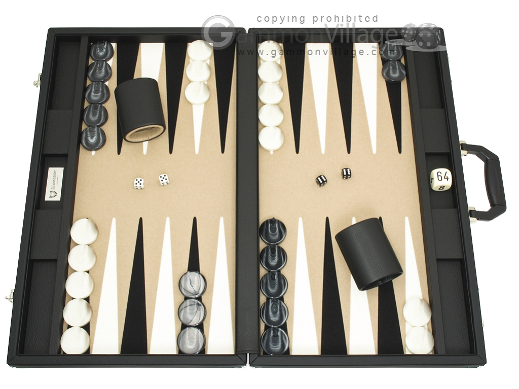 Freistadtler Professional Series - Tournament Backgammon Set - Model 380Z