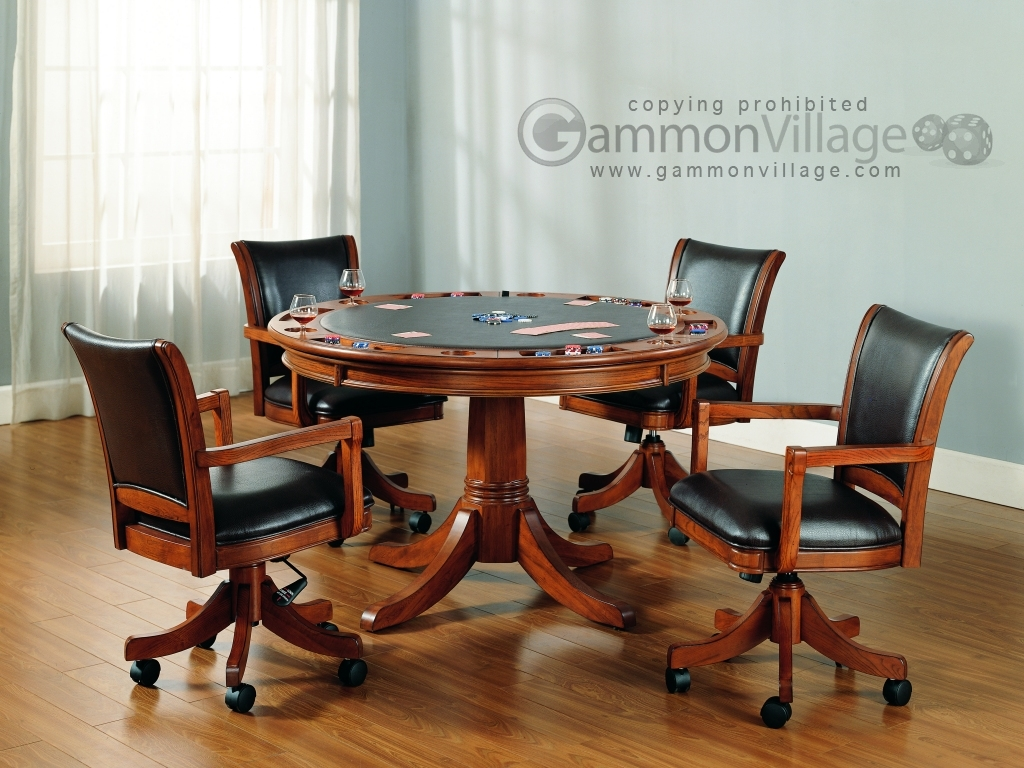 Park View Game Table Set (Table + 4 chairs)