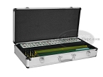 American Mah Jong Set - White Tiles - Aluminum Case - Silver - Item: 2315