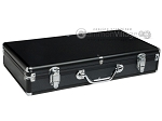 Large Empty Aluminum Mah Jong Case - Black