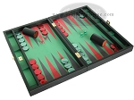 picture of Zaza & Sacci Leather/Microfiber Backgammon Set - Model ZS-425 - Black (2 of 12)