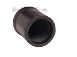 picture of Leather Backgammon Dice Cup - Round - Dark Brown (2 of 2)