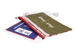 picture of Mah Jongg League Card Zippered Pouch - Green (2 of 4)