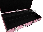 picture of Large Empty Aluminum Mah Jong Case - Pink (3 of 4)