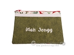 picture of Mah Jongg League Card Zippered Pouch - Green (3 of 4)