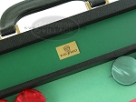 picture of Zaza & Sacci® Leather/Microfiber Backgammon Set - Model ZS-760 - Large - Black (7 of 12)