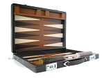 picture of Marcello de Modena™ Leather Backgammon Set - Model MM-642 - Large - Brown (7 of 12)
