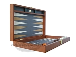 picture of Zaza & Sacci Leather/Microfiber Backgammon Set - Model ZS-425 - Brown (8 of 12)