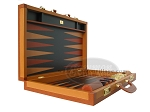 picture of Zaza & Sacci Leather Backgammon Set - Model ZS-888 - Large - Brown (8 of 12)