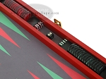 picture of Zaza & Sacci® Leather/Microfiber Backgammon Set - Model ZS-425 - Red (9 of 12)