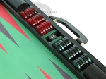 picture of Zaza & Sacci® Leather/Microfiber Backgammon Set - Model ZS-760 - Large - Black (9 of 12)