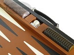 picture of Marcello de Modena™ Leather Backgammon Set - Model MM-642 - Large - Brown (9 of 12)