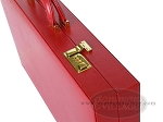 picture of Zaza & Sacci® Leather Backgammon Set - Model ZS-612 - Large - Red (10 of 12)