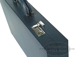 picture of Zaza & Sacci® Leather/Microfiber Backgammon Set - Model ZS-760 - Large - Blue (10 of 12)