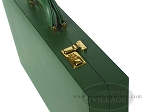 picture of Zaza & Sacci® Leather/Microfiber Backgammon Set - Model ZS-760 - Large - Green (10 of 12)