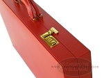picture of Zaza & Sacci® Leather/Microfiber Backgammon Set - Model ZS-760 - Large - Red (10 of 12)