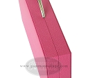 picture of Zaza & Sacci® Leather Backgammon Set - Model ZS-200 - Travel - Pink (10 of 12)